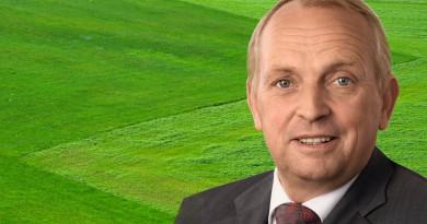 Landwirtschaftsminister Till Backhaus. Fotos: SPD MV, pixabay; Composing