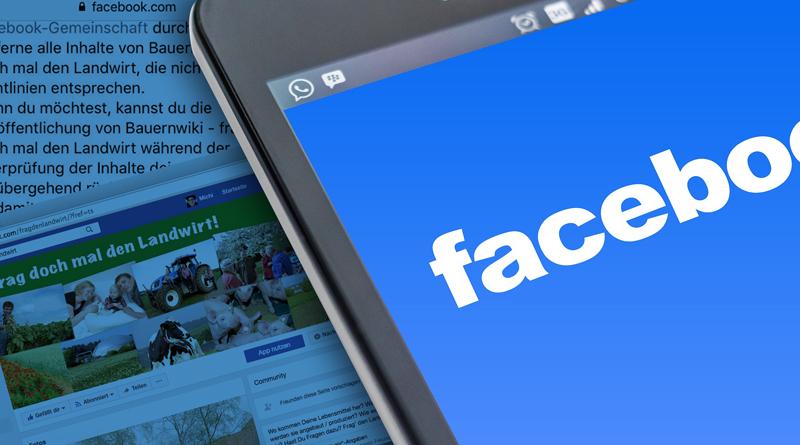 """Facebook sperrt """"Frag den Landwirt"""""""